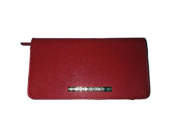 Red Checkbook Wallet - Envee Styles Boutique