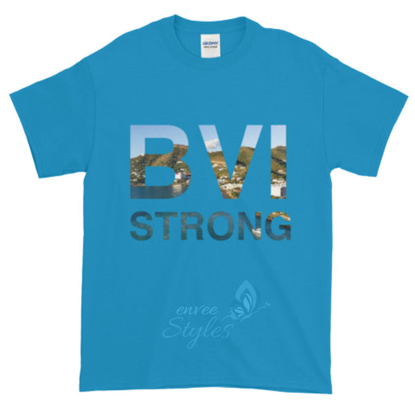 BVI Strong T-Shirt (Fundraiser Relief for Hurricane Irma Victims in the BVI) - Envee Styles Boutique