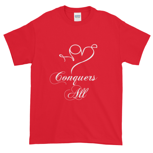 Love Conquers All T-shirt - Envee Styles Boutique