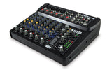 Alto Professional ZMX122FX 8-Channel Compact Mixer with Effects