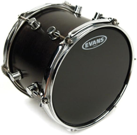 "Evans Onyx Series 2-Ply Black 12"" Tom Batter Drumhead"