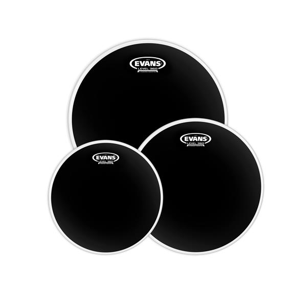 Evans Onyx2 Rock Drum Head Package (10 inch + 12 inch + 16 inch Tom)