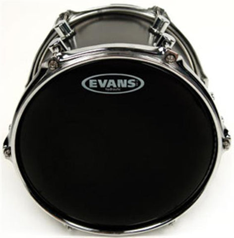 "Evans Hydraulic Black 12"" Tom Batter Drumhead"