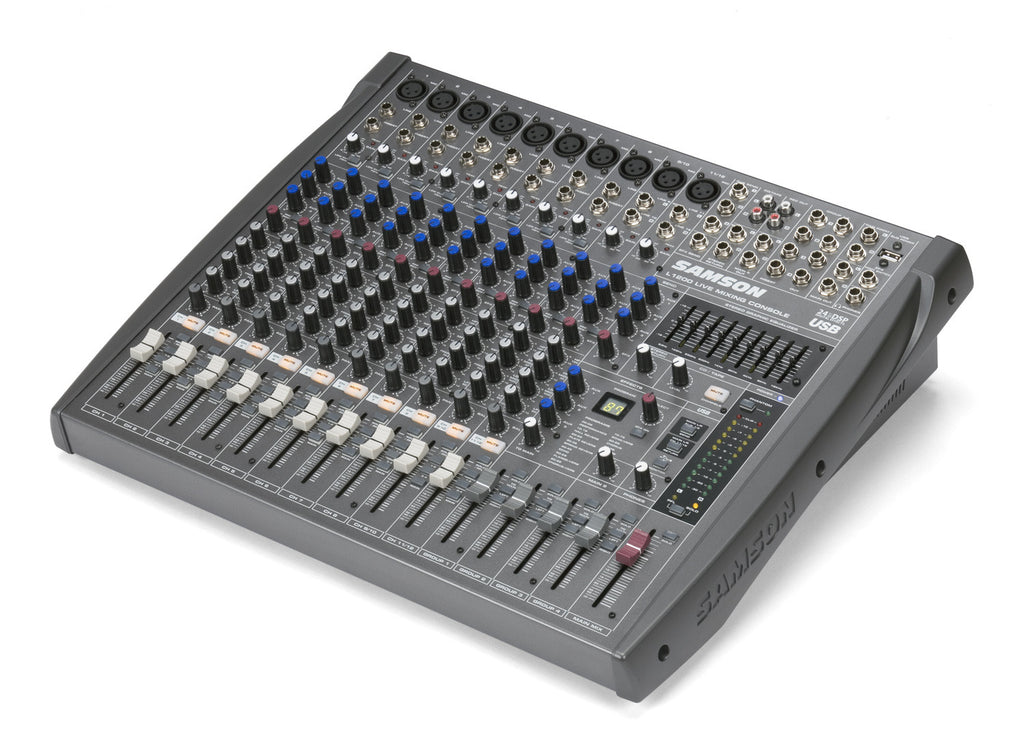 Samson L1200 - 12 Channel/4-Bus Professional Mixing Console