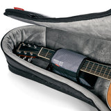 Mono Dual ACOUSTIC + Electric Guitar A hybrid case for 1 acoustic & 1 electric. The first of its kind.