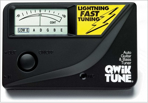 Qwik Tune QT-8 Guitar and Bass Tuner