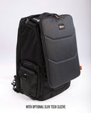 Gruv Gear Club Bag Stealth Elite (Triple Black/Leather)