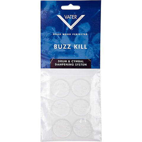 Vater VBUZZ Buzz Kill Drum/Cymbal Dampener - 6 Pack