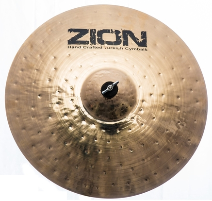 ZION Handcrafted Turkish Cymbals - 21 inch Elite Brilliant Ride Cymbal