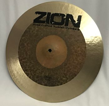 ZION Handcrafted Turkish Cymbals - 19 inch Epic Dark Crash Cymbal