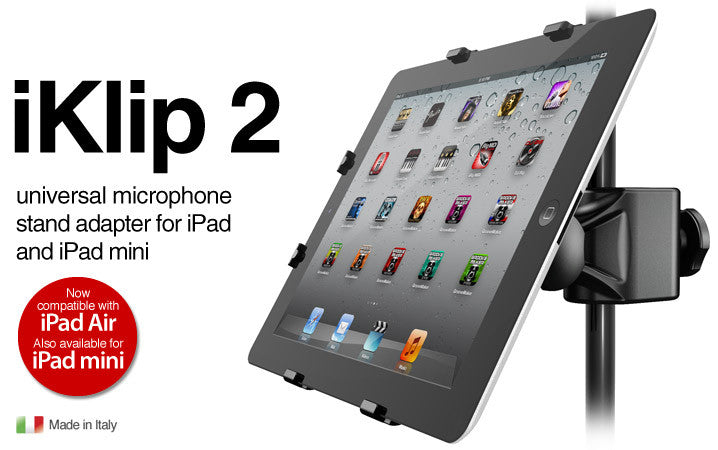IK Multimedia iKlip 2 iPad Music Stand Adapter
