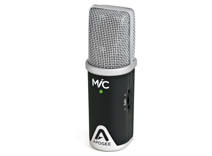 Apogee MiC 96k Professional microphone for GarageBand on iPad, iPhone and Mac
