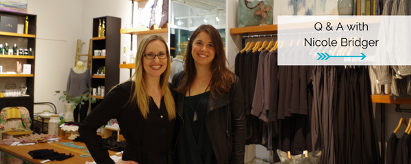 Ladies We Love: Q & A with Vancouver Ethical & Eco Clothing Designer Nicole Bridger