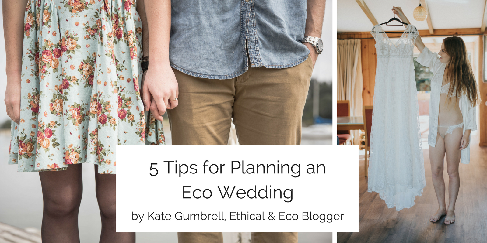 5 Tips for planning an eco wedding