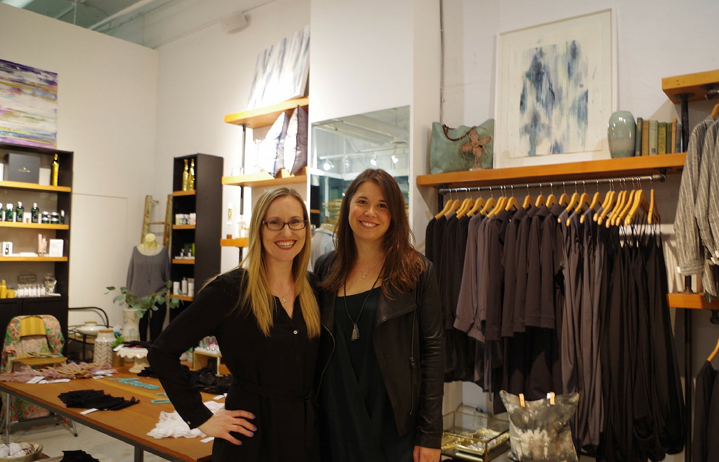 Azura Bay Founder Ashley McIntosh & Canadian Eco & Ethical Designer Nicole Bridger