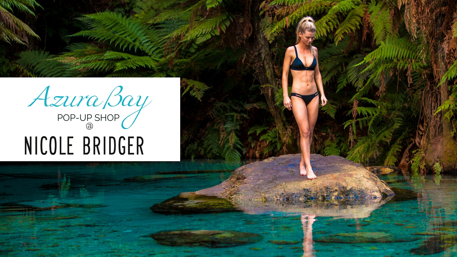 Azura Bay Pop-Up Shop in Vancouver at Nicole Bridger