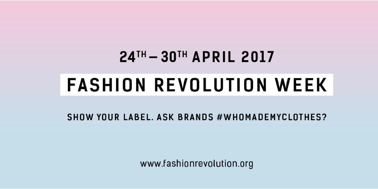Fashion Revolution Week at Azura Bay