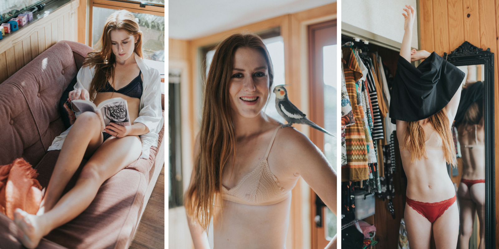 Eco Blogger Kate Gumbrell's Wedding Lingerie Picks