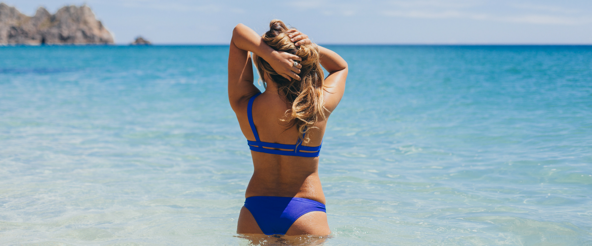 Pro Surfer Corinne Evans for Azura Bay Swimwear