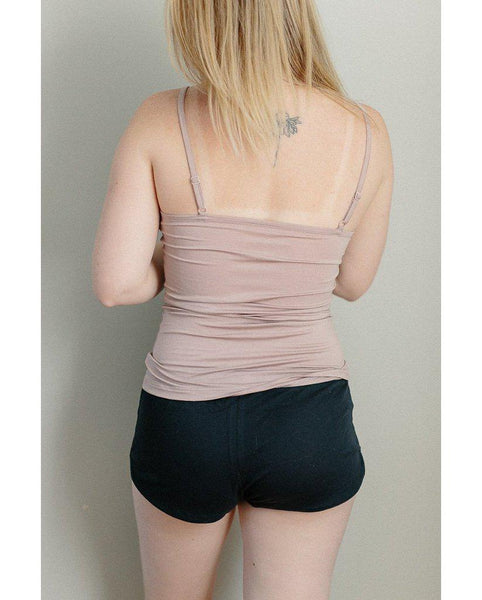 Organic Cotton Sleep Shorts - Navy *Only M left! FINAL SALE ITEM*