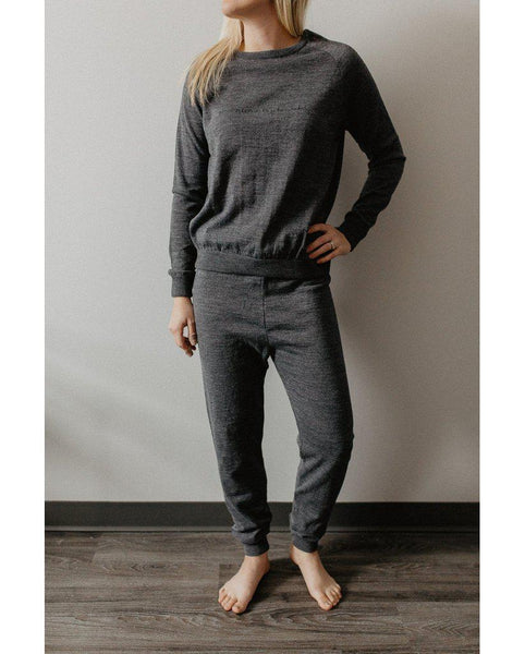 Almost as Sustainable As Being Naked Sweater - Grey