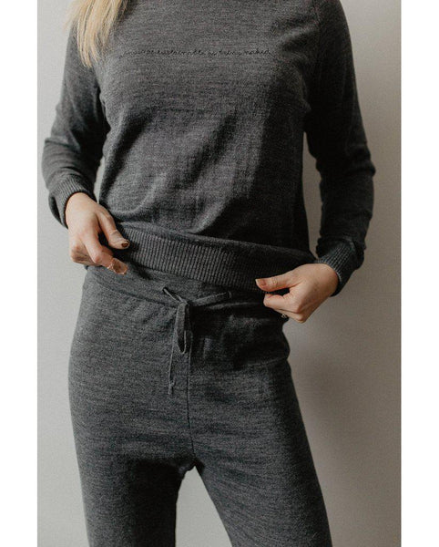 Almost as Sustainable As Being Naked Sweatpants - Grey