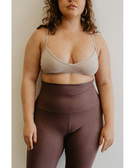 Organic Cotton Light Sports / Yoga / Lounge Bra - Lilac Purple