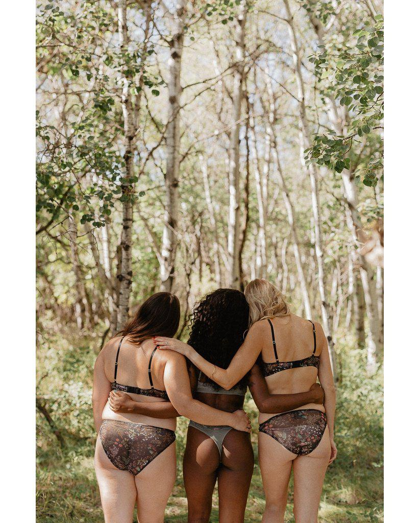 Recycled Mesh Set - Forest Print