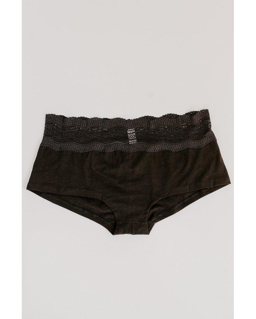 Dolce Boyshort - Black
