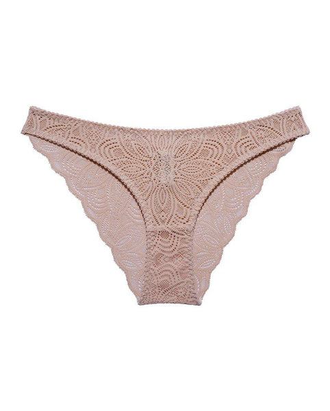 Beige Recycled Lace Lima Undies *FINAL SALE*