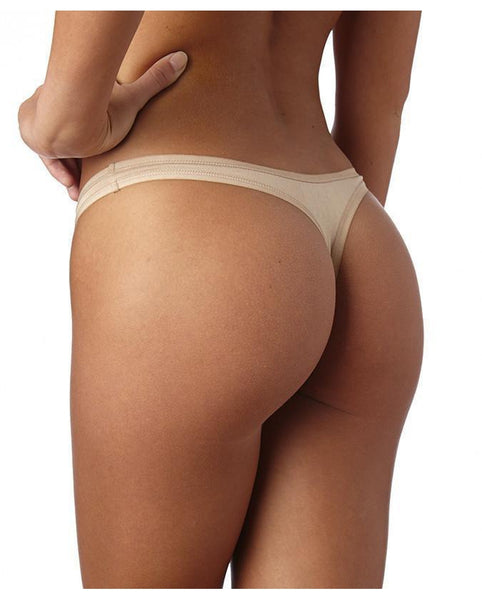 Organic Cotton Essential Thong - 2 pack