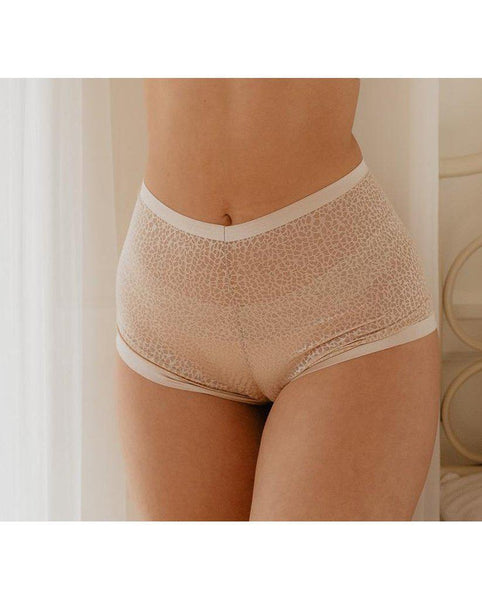 Elza Gold High Waisted Undies