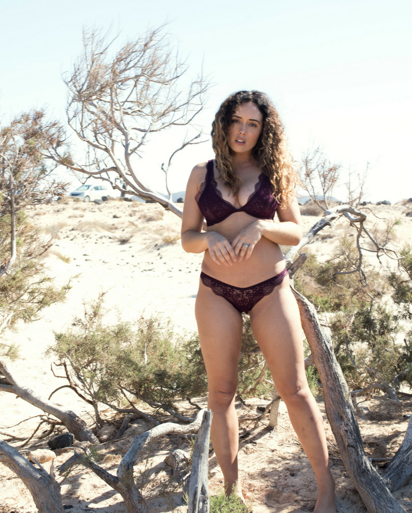 Plum Purple Gisele Bralette