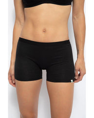 Hemp Long Boyshort Undies - Black