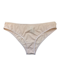 Organic Cotton Julie Hipster Bikini - Beige *FINAL SALE ITEM*