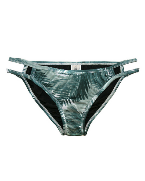 Lulu Palm Print Bikini Bottoms - Almost gone!