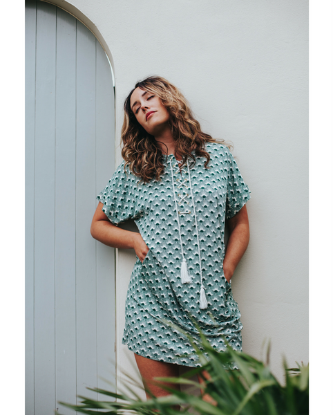 Sara Green Beach Cover-up Dress