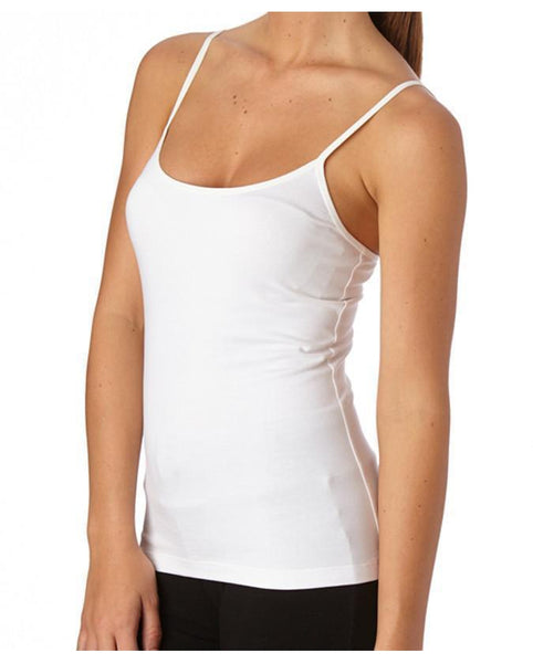 Organic Cotton Everday Cami Tank Top w/Bra