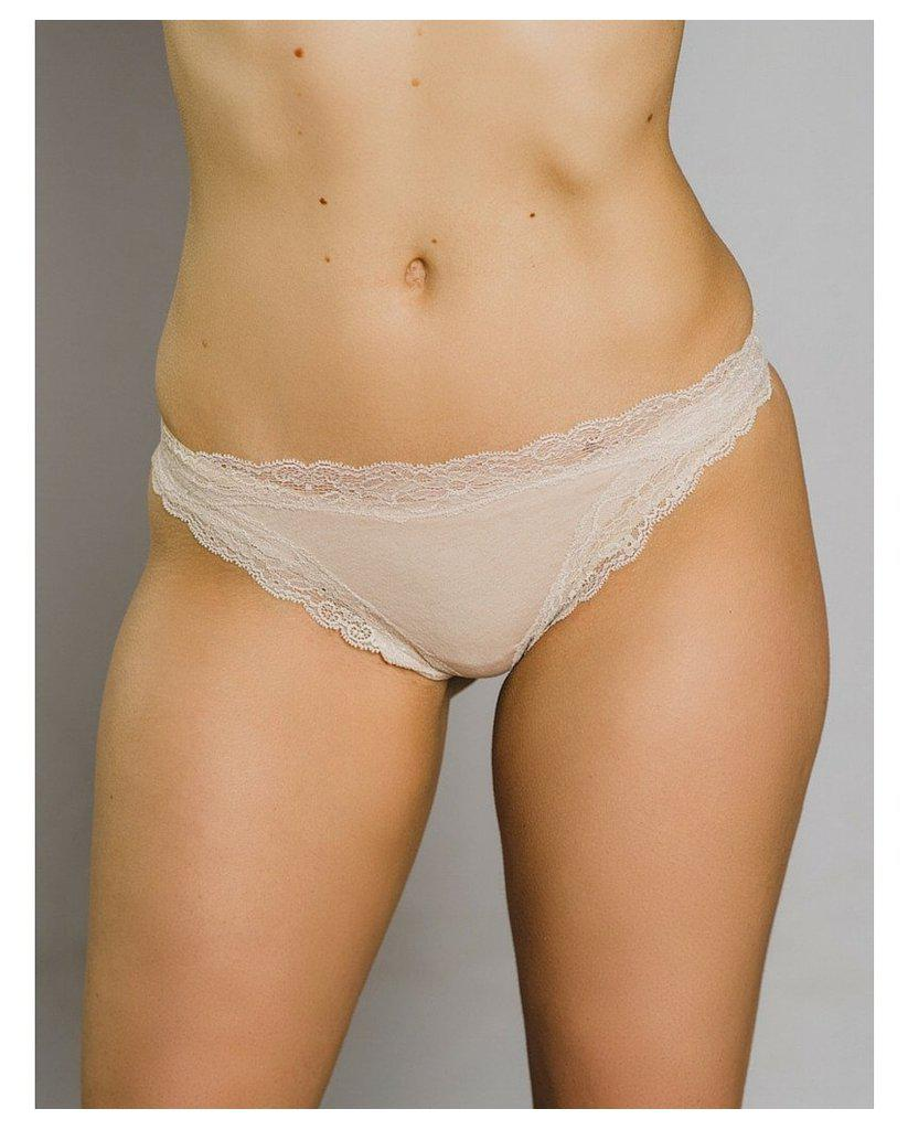 Organic Cotton Not So Basic Thong
