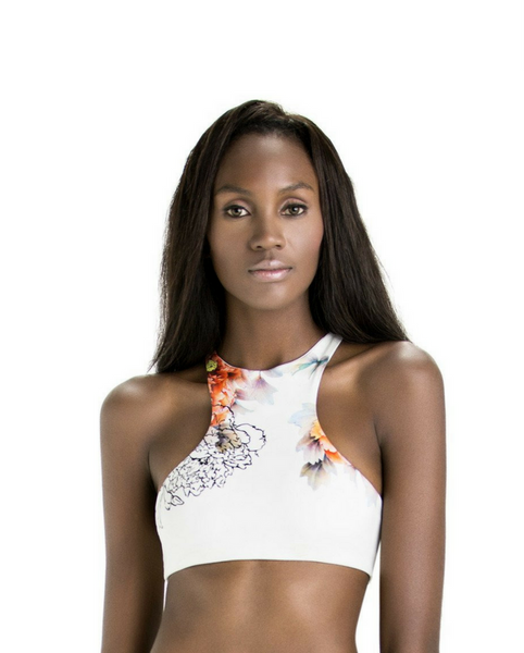Zola Crop Top Sports/Swim Bra *Only 1XL Left*