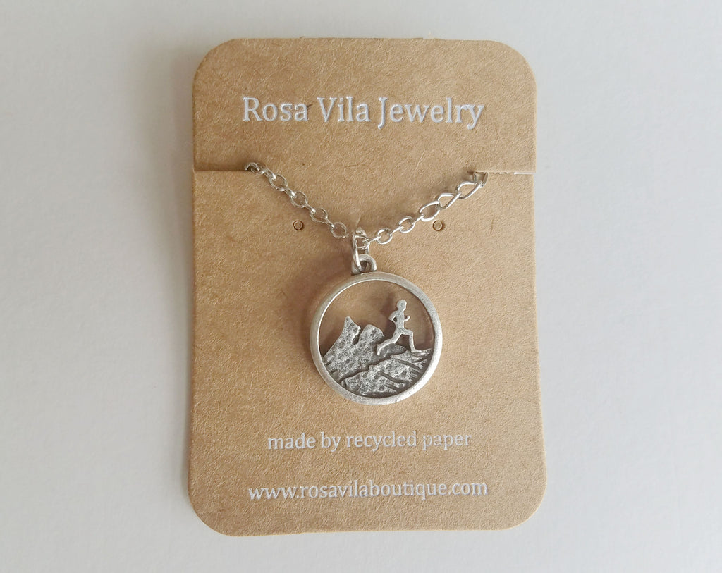 Runner Necklace - Rosa Vila