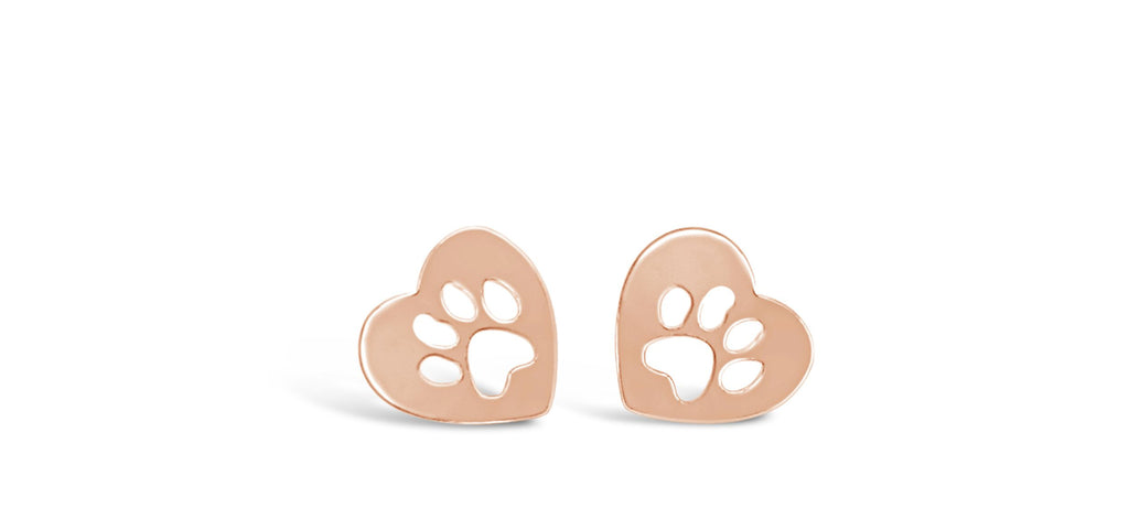 Dog Paw Earrings-Rosa Vila Boutique