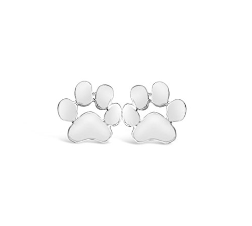 Dog Paw Stud Earrings-Rosa Vila Boutique