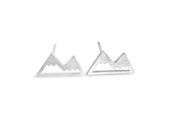 Tiny Mountain Earrings-Rosa Vila Boutique