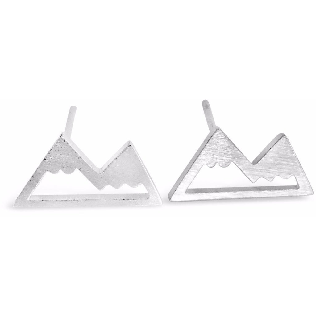 Collection of Snow Capped Mountain Top Earrings-Rosa Vila Boutique