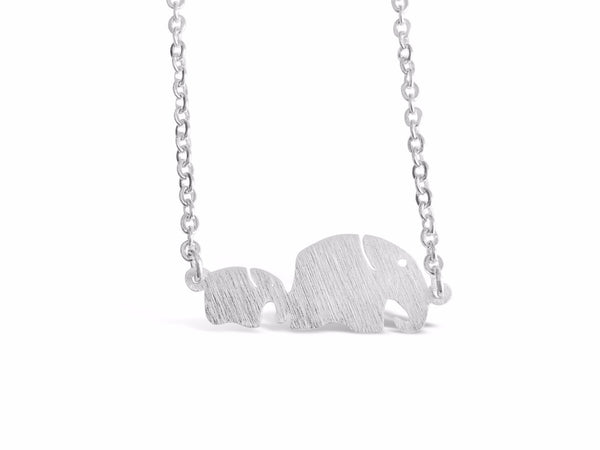 Family Elephant Necklace-Rosa Vila Boutique