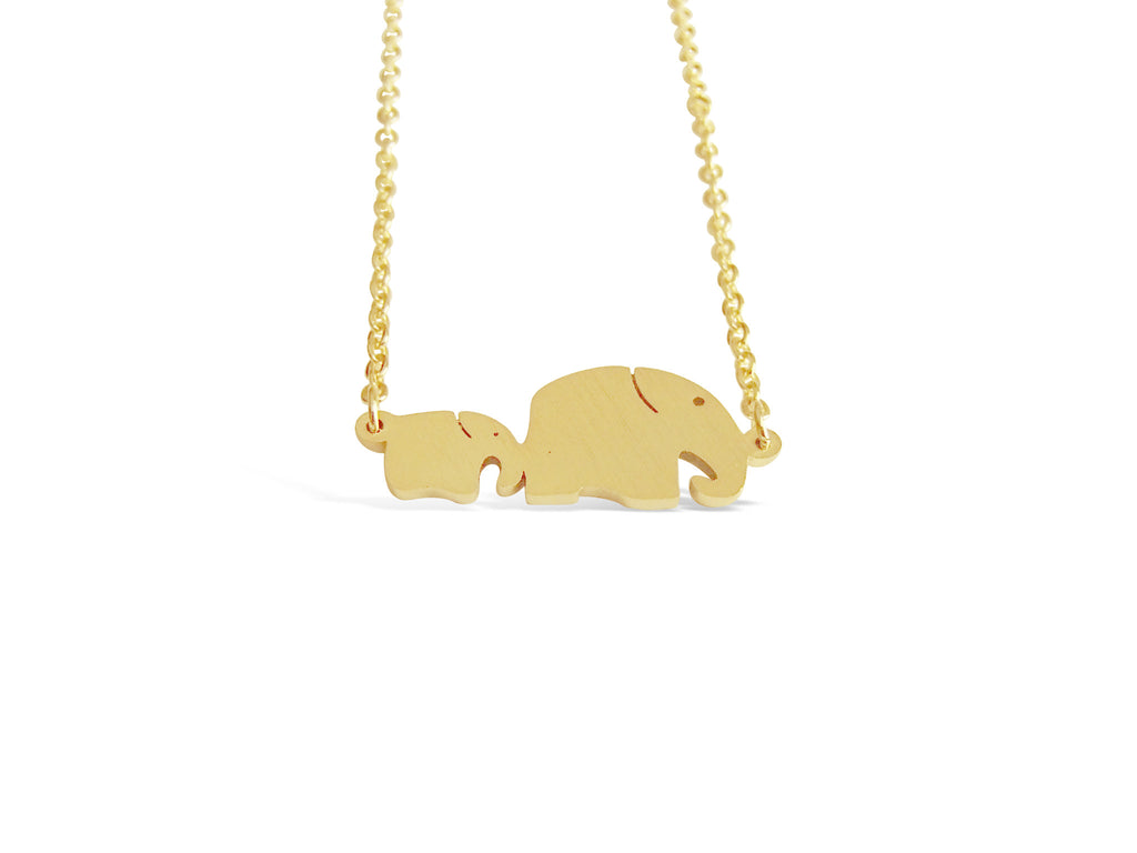 Family Elephant Necklace - Rosa Vila