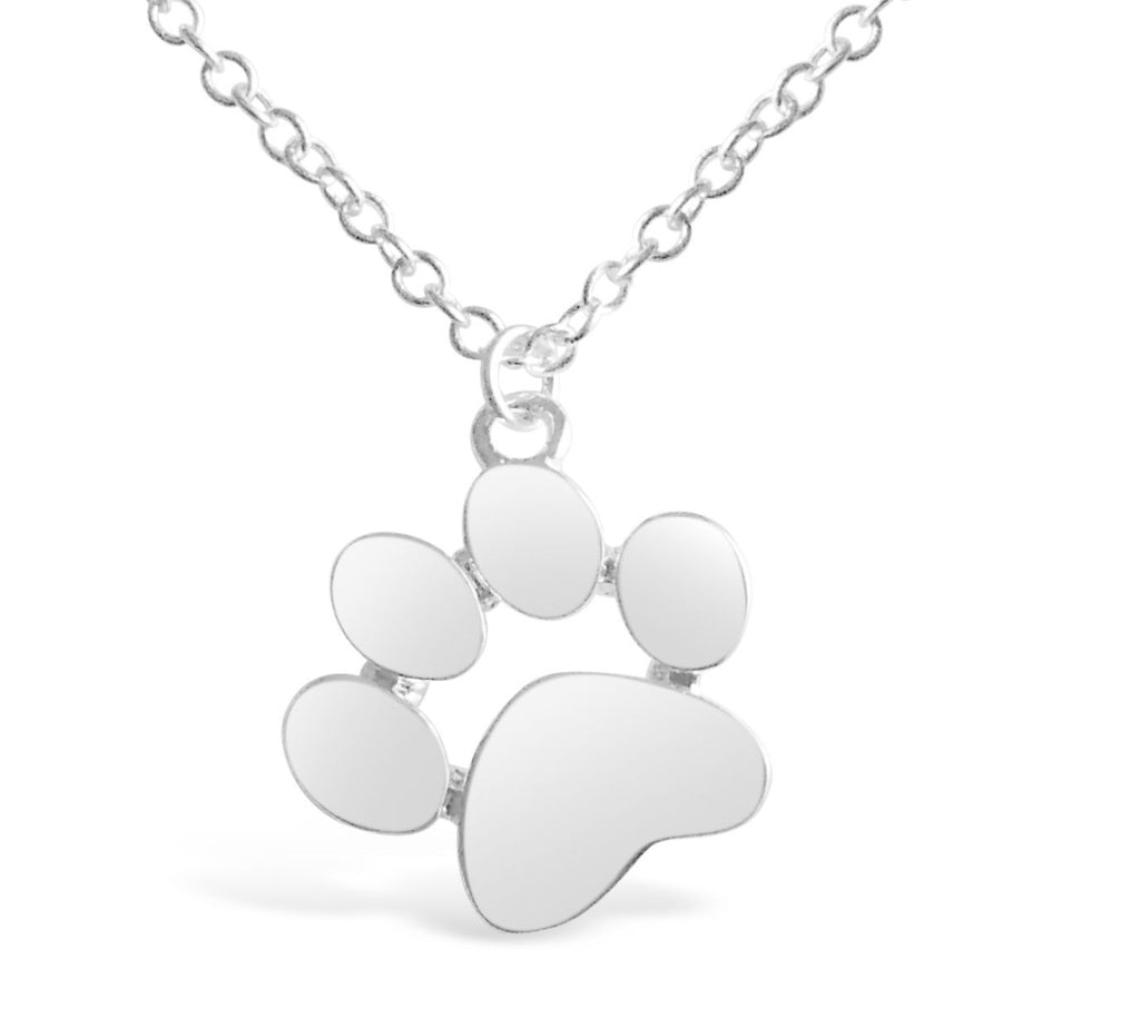 Necklace - Dog Paw Print Necklace