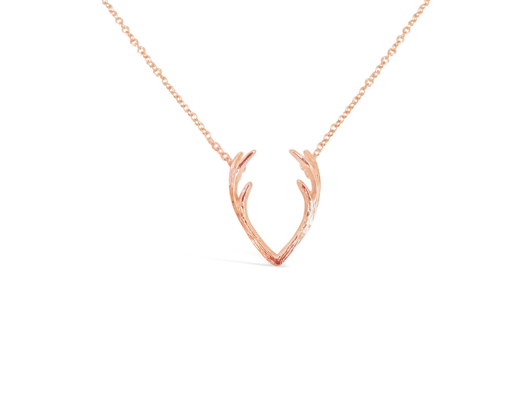 Holiday Antler Necklace-Rosa Vila Boutique