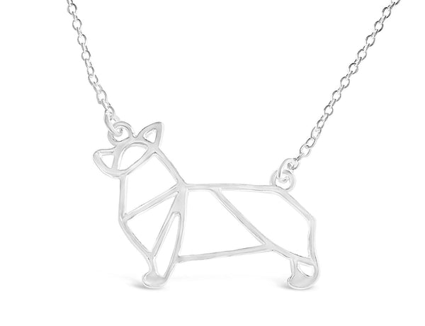 The Welsh Corgi Necklace-Rosa Vila Boutique